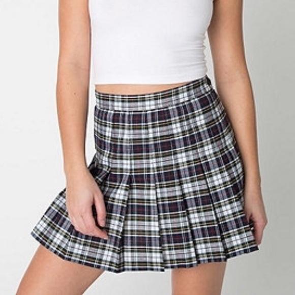 f3a0738e8d American Apparel Dresses & Skirts - 💥SALE!!💥NWOT AA Plaid Tennis Skirt